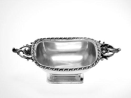 כלי עתיק למלח או לרוטב עשוי מכסף סטרלינג תוצרת אמריקה סוף מאה -'19, 69 גרם aaronjewelryart.com