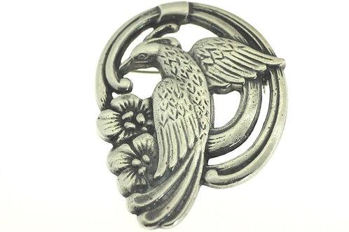 וינטג' סיכה בעיצוב ציפור מכסף סטרלינג 925 מקסיקו '50