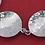Thumbnail: וינטג' צמיד מעוצב מודרניסטי מכסף סטרלינג 925 ישראל '70