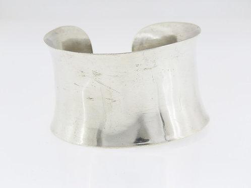 וינטג' צמיד מעוצב גדול ורחב מכסף סטרלינג 925 בעבודת יד ישראל 60