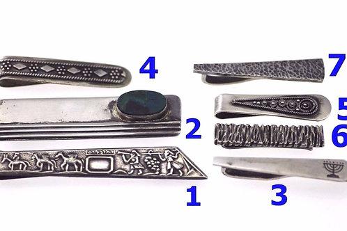 וינטג' לוט 7 סיכות עניבה יודאיקה מכסף סטרלינג 925 ישראל 50