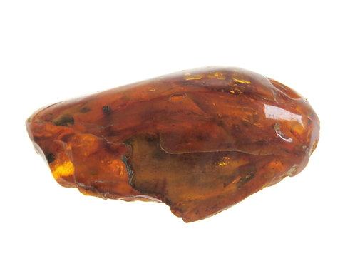 גוש אמבר טבעי בלטי לא מעובד עתיק רוסיה צבע דבש משקל 36.2 גרם aaronjewelryart.com