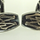 Thumbnail: וינטג' חפתים ארט דקו מעוצבים עם מונוגרמה מכסף סטרלינג 925 וזהב שנות ה'30