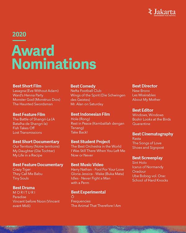 JIFF 2020 Award Nominations