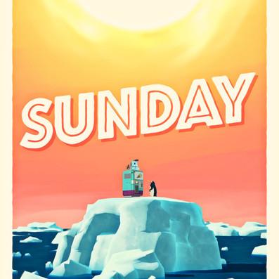 """Sunday (Switzerland, 7'55"""")"""