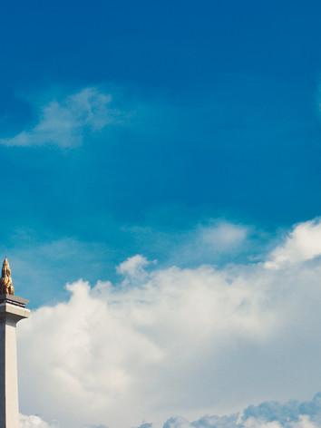 Jakarta's iconinc monument, Monas