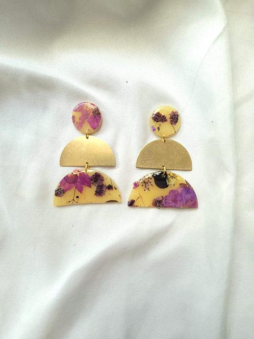 Purple Floral - 1