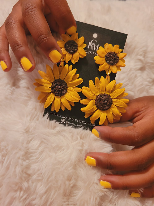 Sunflower Dangle