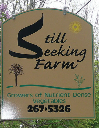 Still Seekin Farm Sign