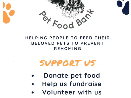 Supporting Bramble's Pet Food Bank