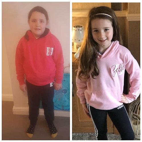 Children's Personalised hoodie
