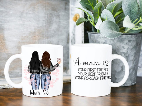 A Mam, Mum, Mother personalised mug