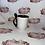 Thumbnail: Personalised black mug with spoon and coaster set