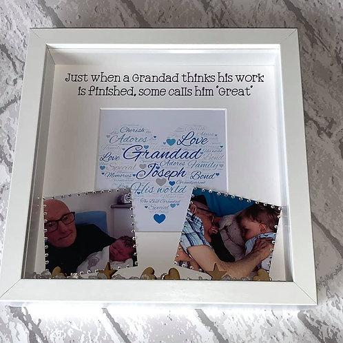 Granda Personalised box frame
