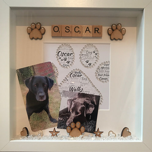 Personalised pet frame