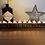 Thumbnail: Personalised solid wood tea light holder