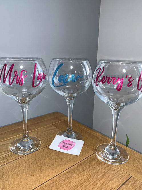 Personalised Alcohol glass & Coaster offer