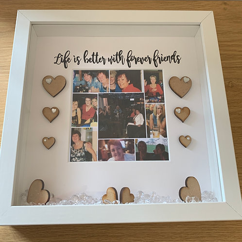 Life is better with friends personalised frame