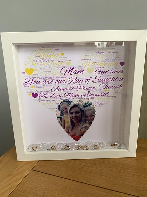 Personalised Mam/Mum frame