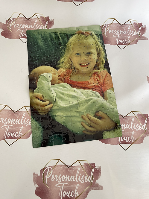 Personalised photo jigsaw
