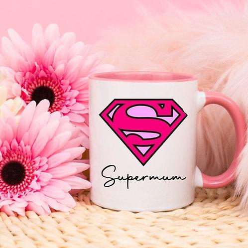 Supermum / Supermam mug