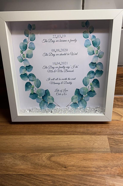 Personalised Special Dates Frame