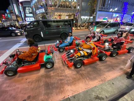 Drive a real-life Mario Kart