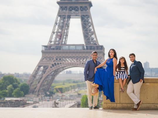 Photo shoot in Paris