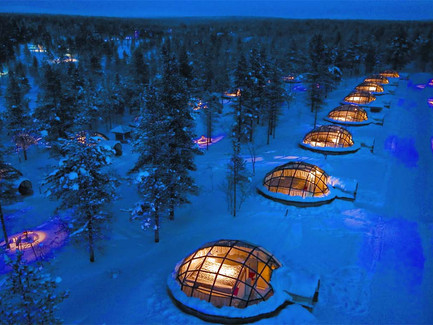 See Northern Lights from bed