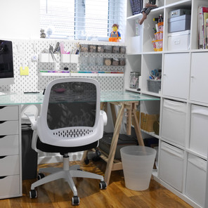 A Refreshed Workroom