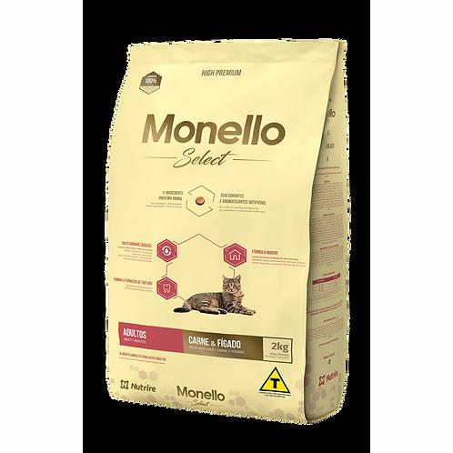 Monello Select Cat Carne Higado X 2KG
