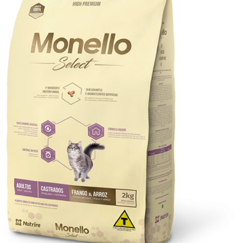 Monello Select Cat Castrados X 2KG