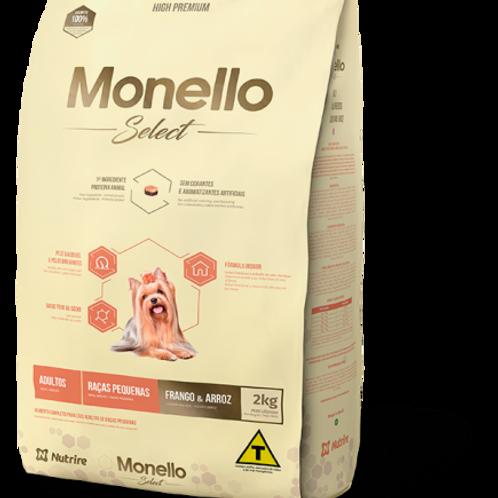 Monello Select Adultos Raza Pequeña X 2 Kg