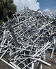A Pile of Aluminum Extrusion