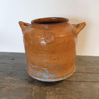 WS00156, Keramieken pot, 19de eeuw