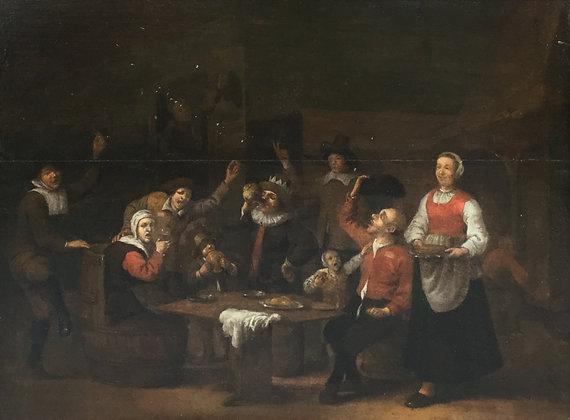 C3632, Egbert I van Heemskerck, Herberginterieur