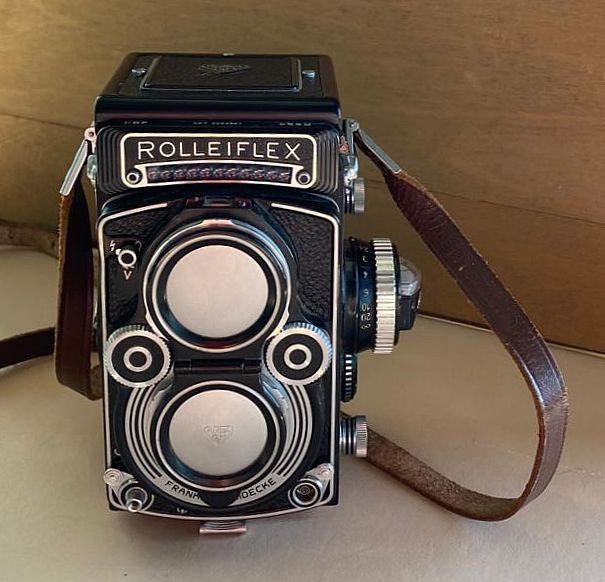 Rollei Rolleiflex 3.5F Model 3 Planar 75mm F/3.5, SOLD