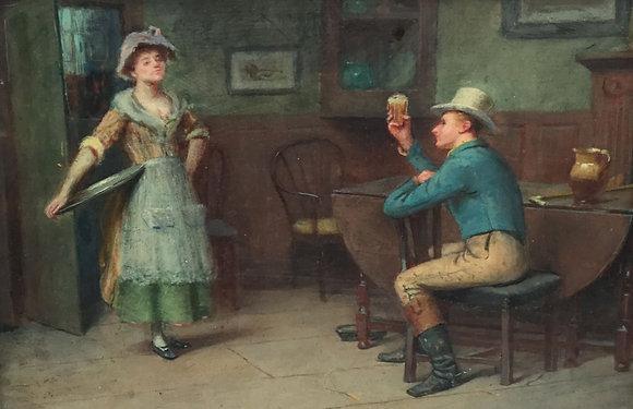 C4900, Henry Childe Pocock, In het café