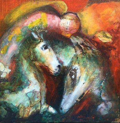 C4735-4, Marjan Kwaaitaal, Paarden