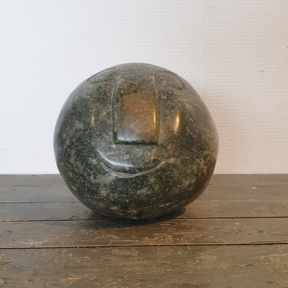 WS00149, Hoofd, albast, 17 cm hoog