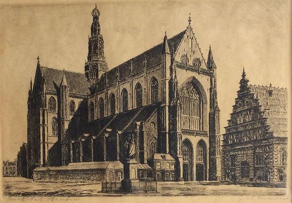 C5154, Groote kerk Haarlem
