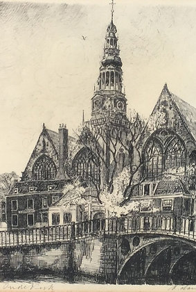 C3613-1, Oude Kerk Amsterdam