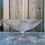 Thumbnail: WS00230 glazen schaal op voet