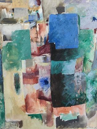 C4301, Wil Bouthoorn, abstracte voorstelling