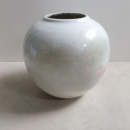 C4493, Zaalberg, Bolvormige vaas,ca. 21 cm hoog