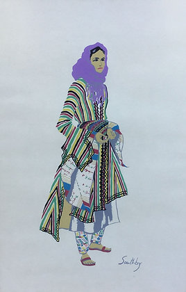 C4819-1, Susan Southby,Uit de serieCostumes of the Holy Land