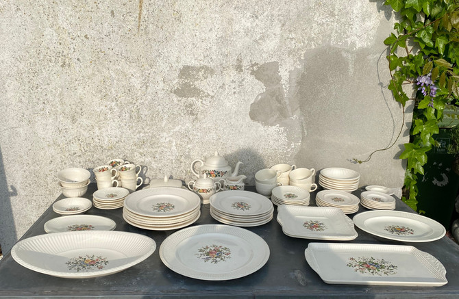"""WS00123, Wedgwood servies """"Conway ofEturia & Barlaston"""", 6-persoons"""