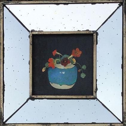 C4053, Ruud van der Neut, Oost Indische kers in Chinese pot, 18e eeuw