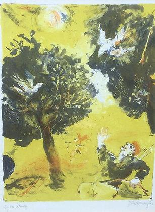 C4701-4, Jan Roelf Mensinga, Genieten van de natuur