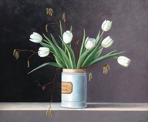 C193, Annelies Jonkhart, Tulpen met apothekerspot